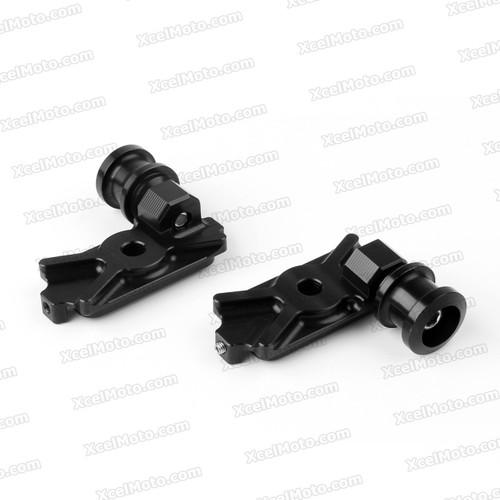 Motorcycle axle block spools/slider, Kawasaki Ninja 250R, Ninja 300 2013 2014 rear axle spools.