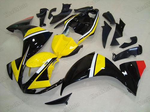 2009 2010 2011 Yamaha R1 yellow and black fairings and body kits, Suzuki 2009 2010 2011 Yamaha R1 OEM replacement fairings and bodywork.