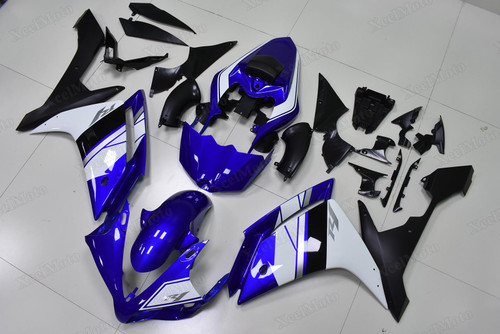 2007 2008 Yamaha R1 50th anniversary OEM color scheme fairings