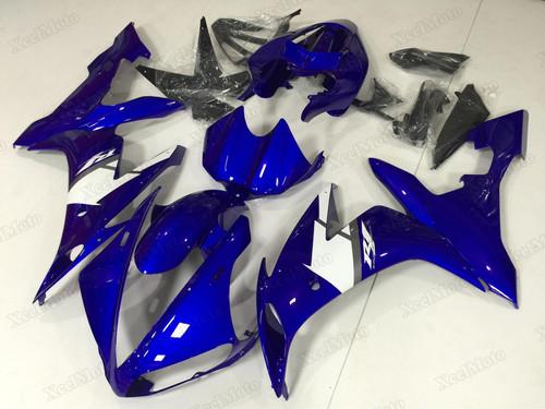 2004 2005 2006 Yamaha R1 blue fairings and body kits, Suzuki 2004 2005 2006 Yamaha R1 OEM replacement fairings and bodywork.