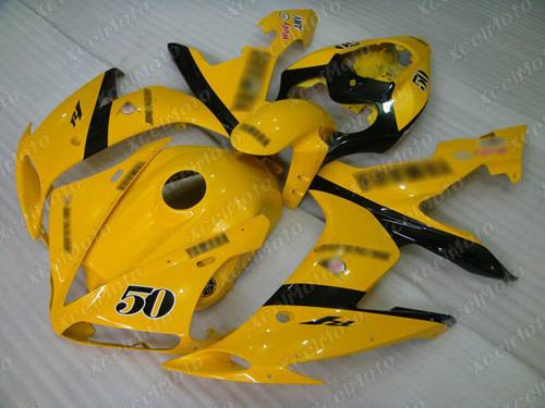 2004 2005 2006 YAMAHA R1 yellow fairing