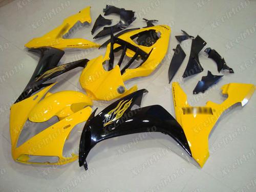 2004 2005 2006 YAMAHA R1 yellow and black fairing