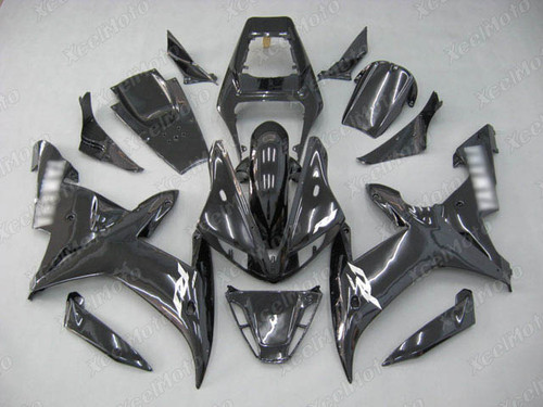 2002 2003 YAMAHA R1 black pearl color white decals
