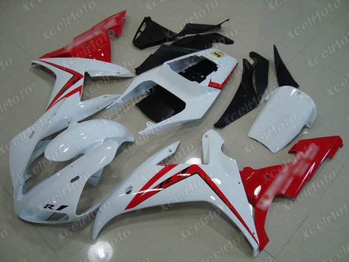 2002 2003 YAMAHA R1 white and red fairing