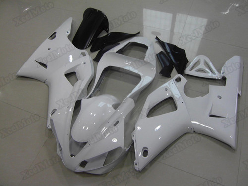 2000 2001 Yamaha R1 pearl white fairing kits and bodywork