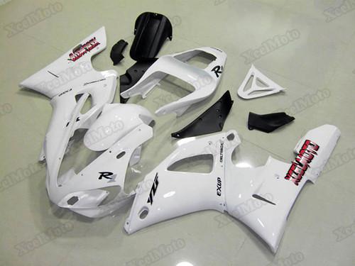 2000 2001 Yamaha R1 pearl white fairing kits and bodywork.