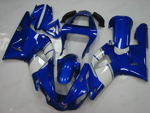 2000 2001 Yamaha R1 blue and white fairings and bodywork