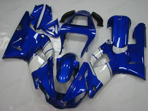 2000 2001 Yamaha R1 blue and white fairings and bodywork