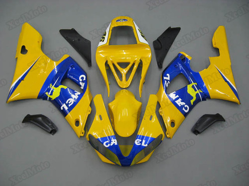 2000 2001 Yamaha R1 camel fairings and body kits, Suzuki 2000 2001 Yamaha R1 OEM replacement fairings and bodywork.