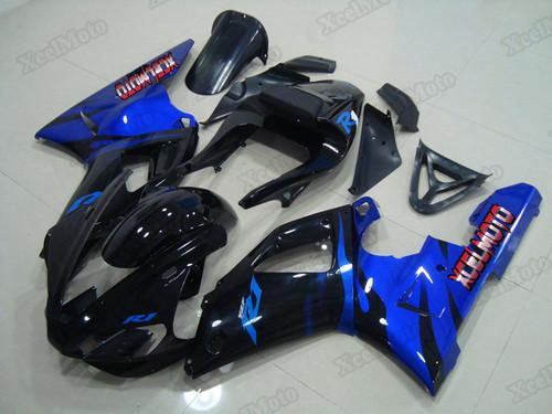 2000 2001 Yamaha R1 ghost flame fairings and body kits, Suzuki 2000 2001 Yamaha R1 OEM replacement fairings and bodywork.