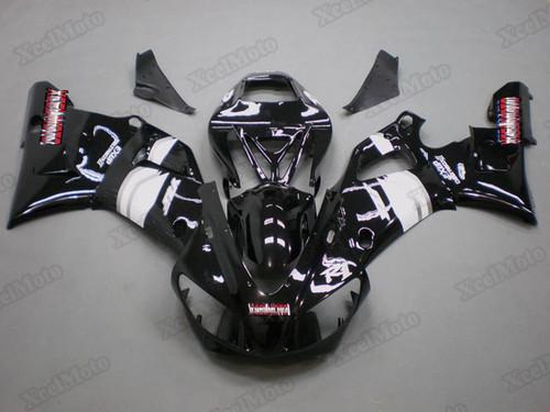 1998 1999 Yamaha R1 gloss black fairings and body kits