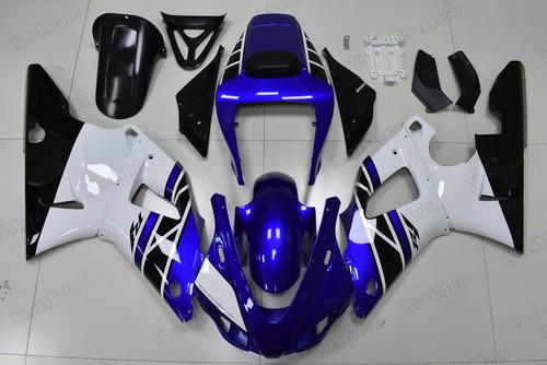 1998 1999 Yamaha R1 50th anniversary scheme  fairings