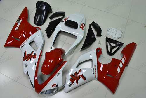 Yamaha R1 1998 1999 white and red OEM color fairings