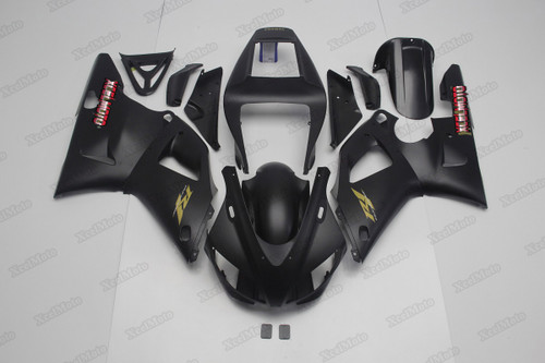 1998 1999 Yamaha R1 flat black fairings and body kits