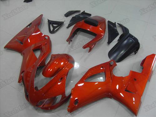 1998 1999 Yamaha R1 burnt orange fairings and body kits, Suzuki 1998 1999 Yamaha R1 OEM replacement fairings and bodywork.