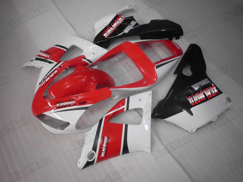 1998 1999 Yamaha R1 red white and black fairings and bodywork