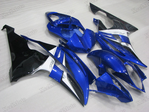 2008 2009 2010 to 2015 2016 Yamaha R6 OEM fairings blue and black