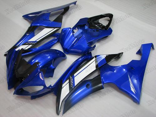 2008 2009 2010 to 2015 2016 Yamaha R6 OEM fairings blue and black