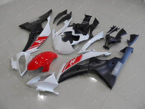 2008 2009 2010 to 2015 2016 Yamaha R6 red white and black fairing
