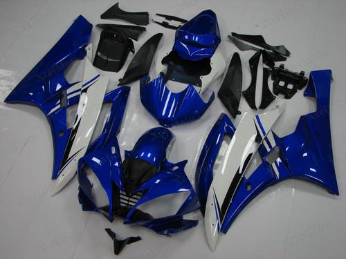 Yamaha R6 2006 2007 blue fairings and bodywork