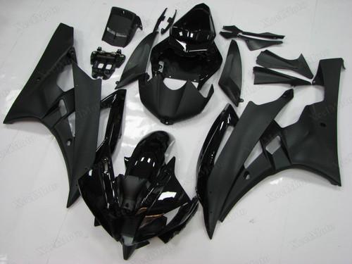 Yamaha R6 2006 2007 black