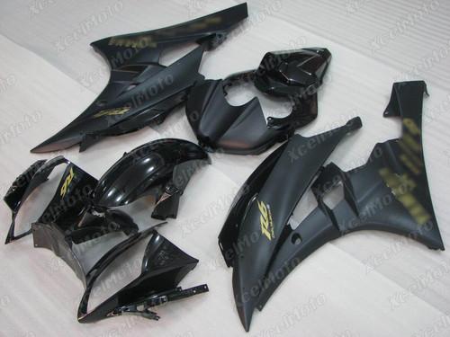 2006 2007 Yamaha YZF-R6 black fairing