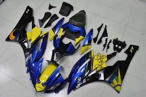 Yamaha R6 2006 2007 AGV Rossi Shark fairings