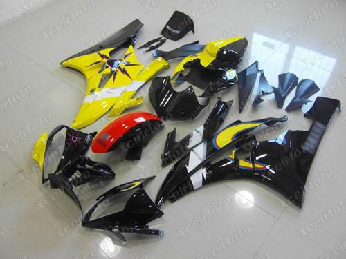 2006 2007 YAMAHA R6 yellow and black fairing