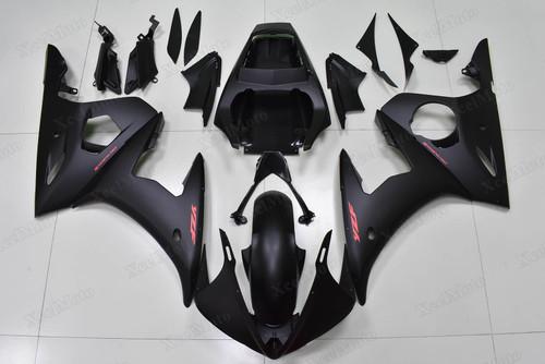 Yamaha R6 2003 2004 2005 matte black superbike