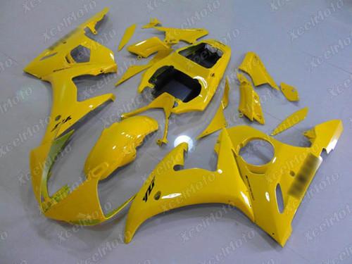 2003 2004 2005 Yamaha YZF R6 yellow fairing