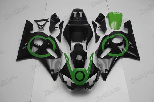 1999 2000 2001 2002 Yamaha R6 green and black fairings and body kits, Suzuki 1999 2000 2001 2002 Yamaha R6 OEM replacement fairings and bodywork.