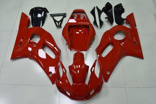 1999 2000 2001 2002 Yamaha R6 red
