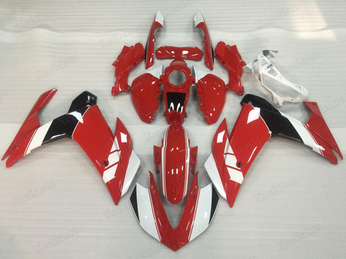 Yamaha R3 red fairings and body kits, Suzuki Yamaha R3 OEM replacement fairings and bodywork.