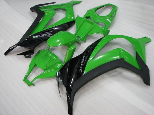 2011 2012 2013 2014 2015 Kawasaki Ninja ZX10R green and black