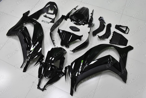 2011 2012 2013 2014 2015 Kawasaki Ninja ZX10R gloss black fairing