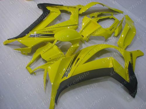 2011 2012 2013 2014 2015 Kawasaki Ninja ZX10R factory fairing yellow and black