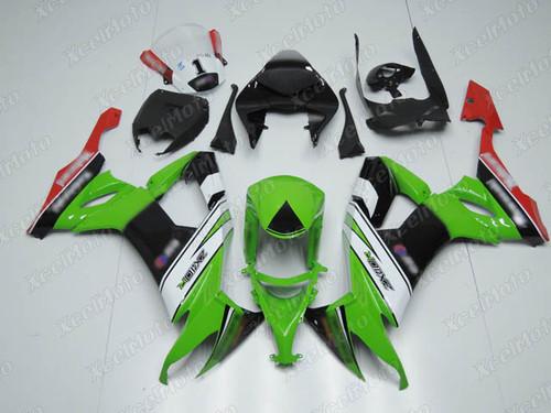 2008 2009 2010 Kawasaki Ninja ZX10R KRT scheme fairing