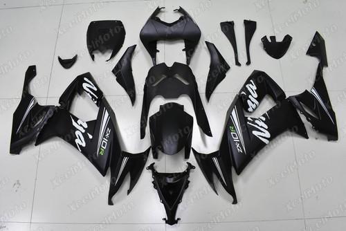 2008 2009 2010 Kawasaki Ninja ZX10R OEM fairing matte black
