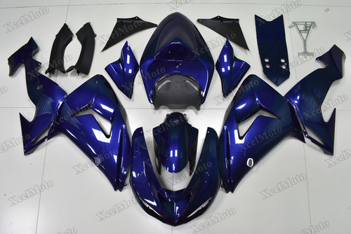 2006 2007 Kawasaki Ninja ZX10R dark blue