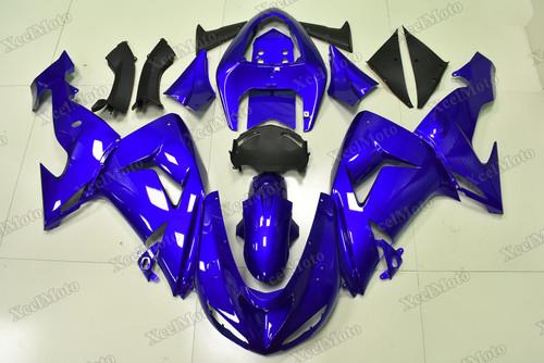 2006 2007 Kawasaki Ninja ZX10R candy blue