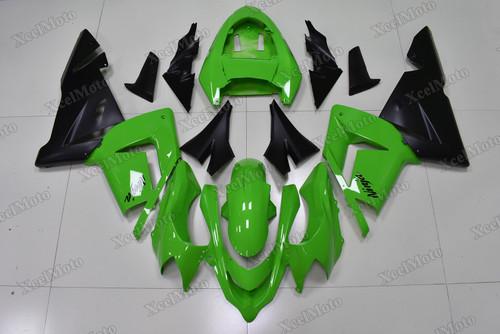 2004 2005 Kawasaki Ninja ZX10R lime green and matte black