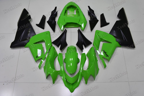 2004 2005 Kawasaki Ninja ZX10R lime green and matte black