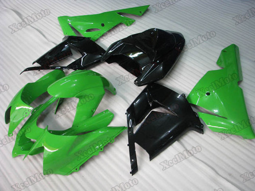 2004 2005 Kawasaki Ninja ZX10R green and black