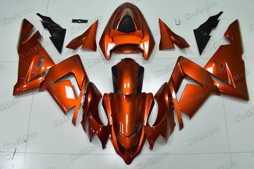 2004 2005 Kawasaki Ninja ZX10R burnt orange