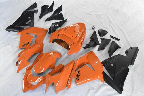 2004 2005 Kawasaki Ninja ZX10R orange and black fairing