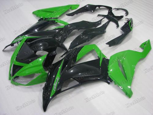 2013 2014 2015 2016 2017 2018 Kawasaki Ninja ZX6R green and black