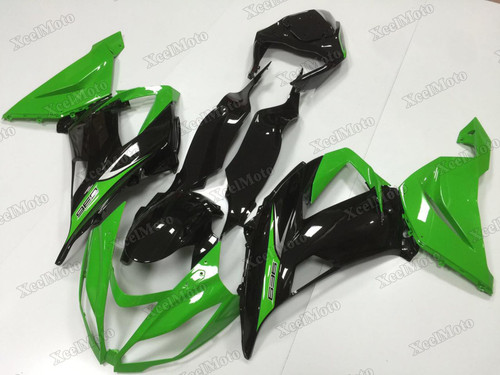 2013 2014 2015 2016 2017 2018 Kawasaki Ninja ZX6R green and black