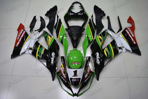 2013 2014 2015 2016 2017 2018 Kawasaki Ninja ZX6R kawasaki racing team scheme