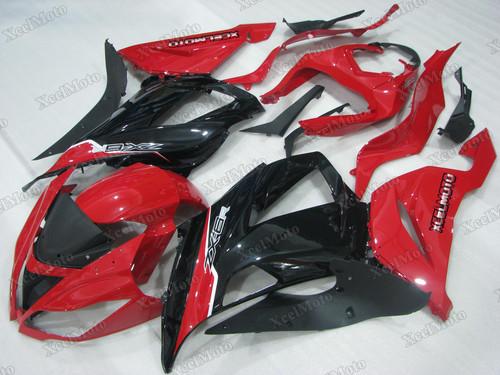 2013 2014 2015 2016 2017 2018 Kawasaki Ninja ZX6R red and black fairings