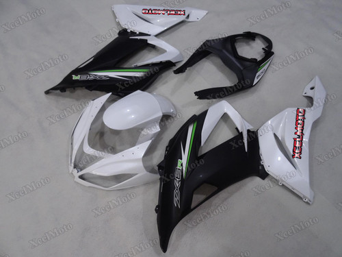 2013 2014 2015 2016 2017 2018 Kawasaki Ninja ZX6R white and black